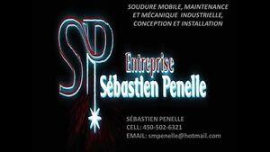 Soudure mobile, Mecanique et maintenance industrielle Saint-Hyacinthe Québec image 1