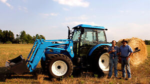 New 4wd LS tractor with loader