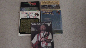Rock & Country Songbooks