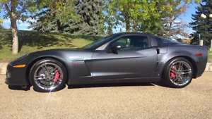 2009 Chevrolet Corvette Z06. 2LZ Coupe (2 door)