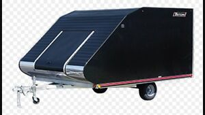 Snowmobile trailer wanted