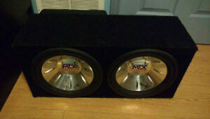 MTX subwoofer WITH AMP