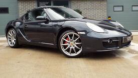 "2006 Porsche Cayman S 3.4 Atlas Grey 19"" Carrera Sport Wheels The Best Example!"