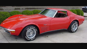 Looking for any parts for a 1970 corvette