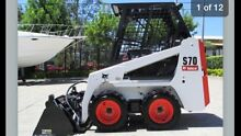 DIY BOBCAT HIRE S70 / 463 1 METER WIDE NARROW ACCESS & S550 /S185 Sydney City Inner Sydney Preview