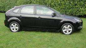 Ford Focus 1.6TDCi 110 2008.25MY Zetec - 1 OWNER - FULL MOT £30 road tax