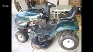 Looking for lawnmower hood