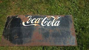 coca cola steel coke zero sign