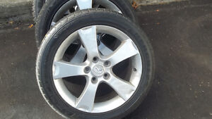 MAZDA3 RIMS AND TIRE m/s