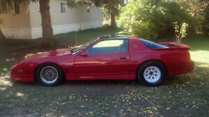 1989 Pontiac Firebird Trans Am project for trade Edmonton Edmonton Area image 1