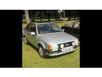 Ford escort. Xr3. ( Carb ). Y Reg. £4995