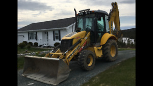 Must See!! 2009 New Holland Backhoe