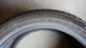 Goodyear one tire P24545R19 with 100% tread