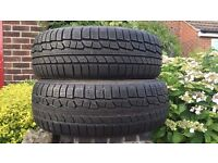 TWO BRAND NEW NOKIAN WINTER TYRES