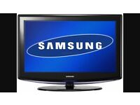 """37"""" SAMSUNG LCD HD TV BUILT IN FREEVIEW"""