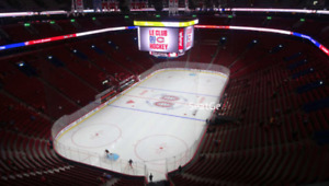 Billets Montreal Canadiens Gris section 326 Grey season tickets