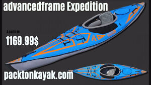 kayak portable(gonflable) advancedframe expédition