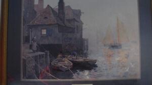 Framed Print by Famous British Painter - E.W. Haslehust Gatineau Ottawa / Gatineau Area image 2