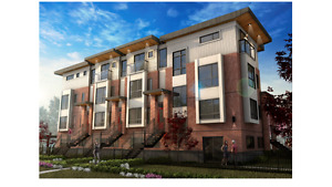 Brand new luxury townhome 2 Beds, 2.5 Baths,1 den Marpole area