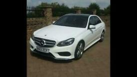 63 Mercedes-Benz E350 3.0CDI 252bhp BlueTec 7G-Tronic Plus AMG Sport, Pan roof