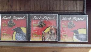 Cd de chasse  buck expert (corneille, huart et prédateur)