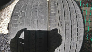 Nokian two tire P225/45R18with 85% tread l