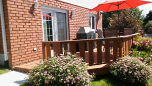 Spacious 1 + Bedroom Apt. in West End Ptbo avail Mid May