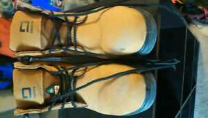 Work boots size 8 womens