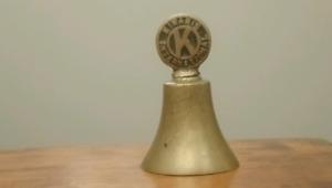 Kiwanis International Solid Brass Bell