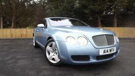 Bentley Continental 6.0 auto Full Bentley History 2005MY GT Glasgow Scotland