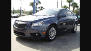 2014 Chevrolet Cruze Eco - with winter tires on rims