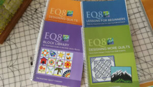 FOR SALE - NEW EQ8 BOOKS for Electric Quilt 8