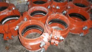 Gruvlok couplings for plastic pipe Yellowknife Northwest Territories image 1