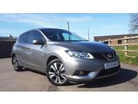 2016 66 Nissan Pulsar 1.5dCi Diesel N-Connecta Manual with Navigation