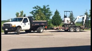 MINI EXCAVATOR SERVICES $90/HOUR PLUS 24 hour EMERGENCY SERVICES Oakville / Halton Region Toronto (GTA) image 1
