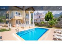 Villa in turkey sleeps 8