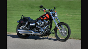 Wanted Harley Davidson dyna wide glide