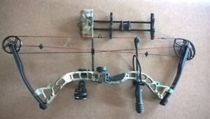 Diamond Blackout Intrigue Compound Bow - Brand New -Right Hand