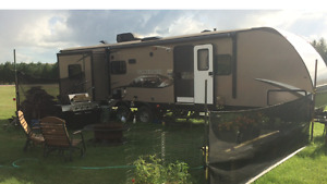 Travel Trailer and lot for Rent at Buffalo Pound