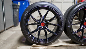 Rays Engineering Gram Lights Wheels and Tires   5x114.3