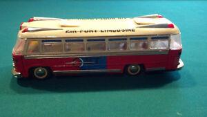 vintage 1960s tin litho bus St. John's Newfoundland image 2