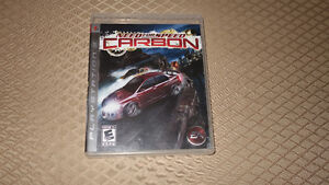 Need for Speed Carbon PS3 Playstation 3