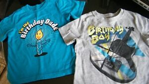 Little Boy's Birthday Shirts