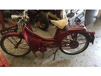 Raleigh runabout 49cc barn find 1966