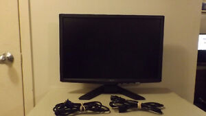 """Acer X223W Black 22"""" Widescreen LCD Monitor (Used)"""