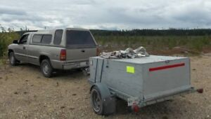 Trade lockable trailer for old motorhome for storage