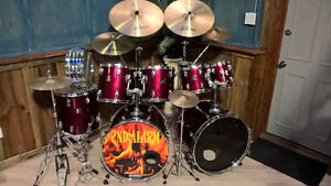 Tama Double Bass Acoustic Drum Set $1000.00 or best offer