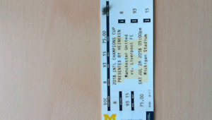 4 tickets for Manchester United vs liverpool at July 28 2018