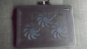 Base de ventilation Super efficace pour laptop, (Cooling Mat)
