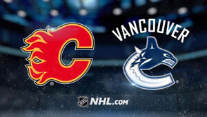 2 Tickets Vancouver Canucks vs Calgary Flame Oct 14 - Lower Bowl